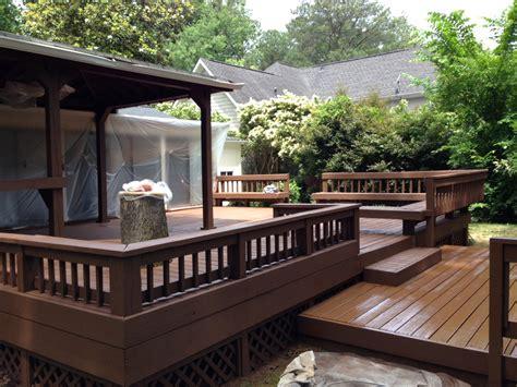 lawn garden creative deck design ideas e2 80 93 outdoor living with archadeck for for