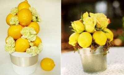 Home decorating ideas with lemons   Sunny yellows