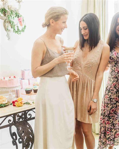 bridal shower and bachelorette gift etiquette the etiquette of bachelorette martha stewart