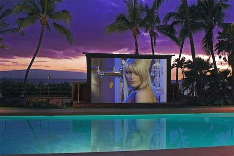 backyard home theater how to create an entertaining outdoor