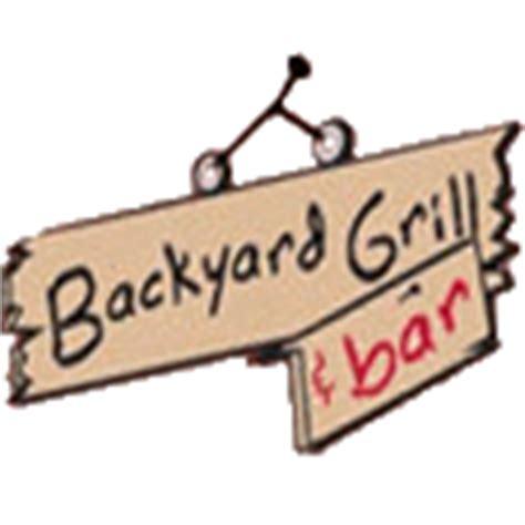 backyard grill com backyard grill and bar