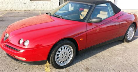 snazzy 1996 alfa romeo spider for sale in new york