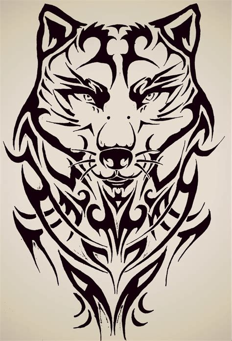 tattoo lovers tribal tribal wolf by tattoo love forever on deviantart