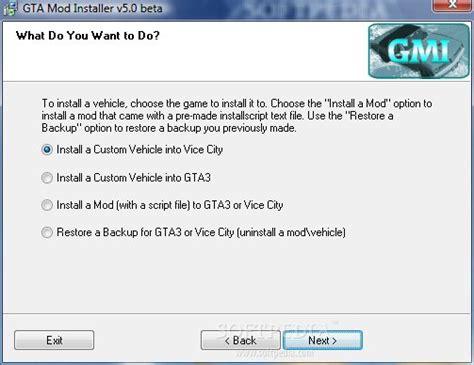 mod gta 5 installer gta mod installer download
