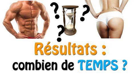 resultats en combien de temps musculation