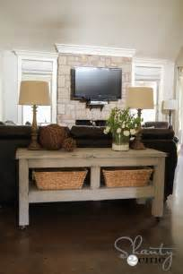 Bench Behind Sofa Ana White Taylors Console Diy Projects