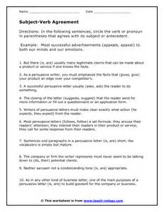 subject verb agreement printable worksheets abitlikethis