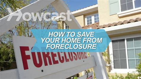 how to buy foreclosure house how to save your home from foreclosure youtube