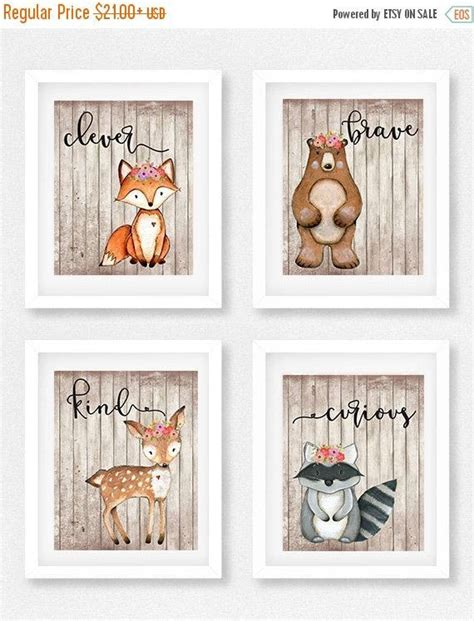 Woodland Creatures Nursery Decor by 25 Best Ideas About Fox Nursery On Woodland