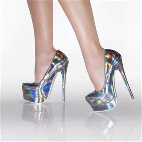 Highheels Fashion 0317 294 black fashion high heels platforms image 496107 on favim