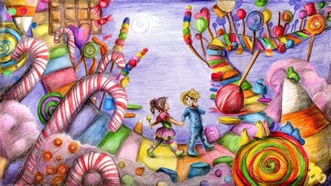 nightime in candyland by neko suika on deviantart