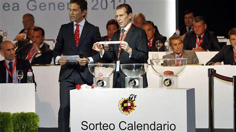Calendario Futbol Liga Santander Liga Santander El Sorteo Calendario De La Liga 2017