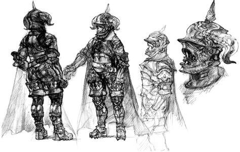 sketchbook guide gabranth sketch characters xii