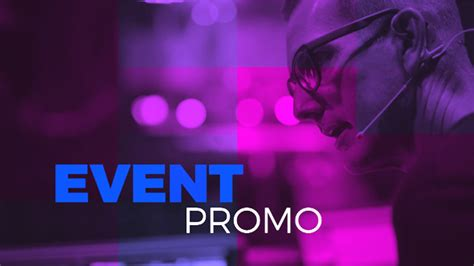 Event Promo Special Events After Effects Templates F5 Design Com Event Promo Template Free