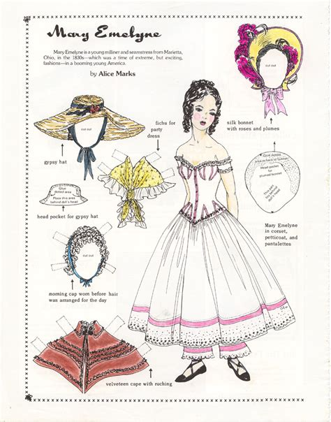 A Paper Doll - paper dolls marges8 s page 94