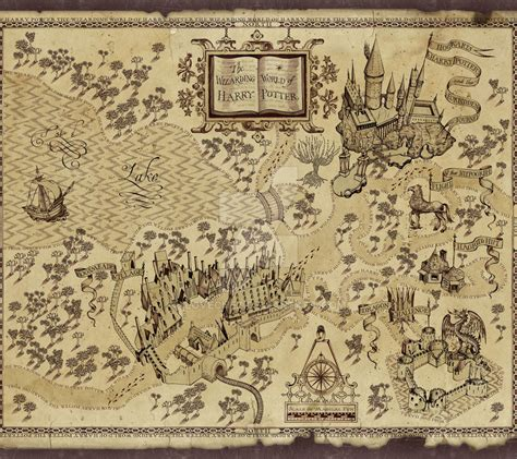 Marauders Map harry potter s marauders map by ilovechez on deviantart
