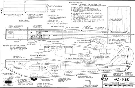 free rc plans woodwork balsa wood rc plane plans pdf plans