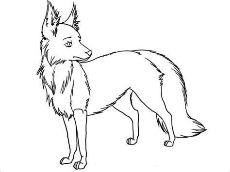 Fox Template Printable