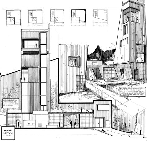 draw architecture archisketchbook architecture sketchbook a pool of