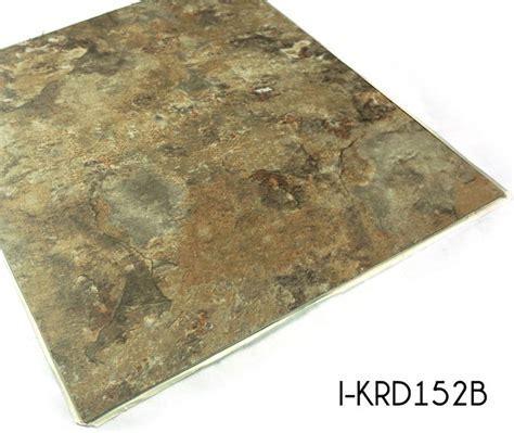 Stone Pattern Vinyl Floor Tiles Adhesive   TopJoyFlooring