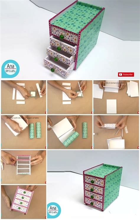 How To Make A Desk Organizer How To Make A Mini Desk Organizer Usefuldiy
