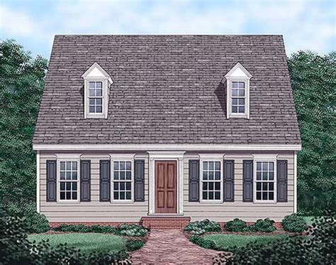 Cape Cod House Plan 45336 Cape Cod Houses Cape Cod And 1200 Square Foot Cape Cod House Plans