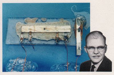 kilby from instruments invented the world s integrated circuit kilby