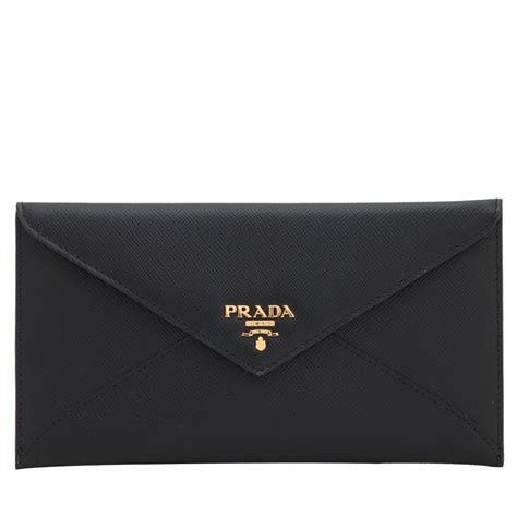 Prada Envelope Wallet 4 5jt prada 1mf175 saffiano leather envelope wallet with flap pink orchard luxury brands