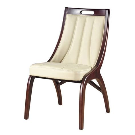 barrel leather dining chairs set of 2 11681709