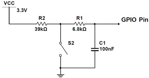resistor switch circuit switch debouncing tutorial with hardware c code