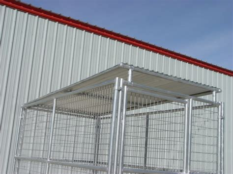 kennel roof 6 x10 kennel solid roof panel