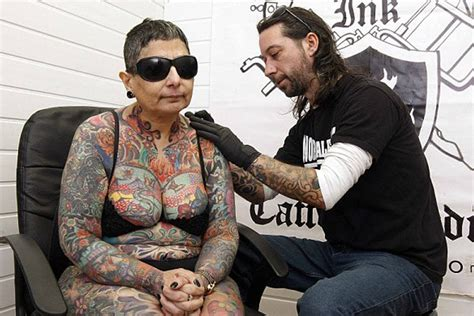 blind has tattoos all