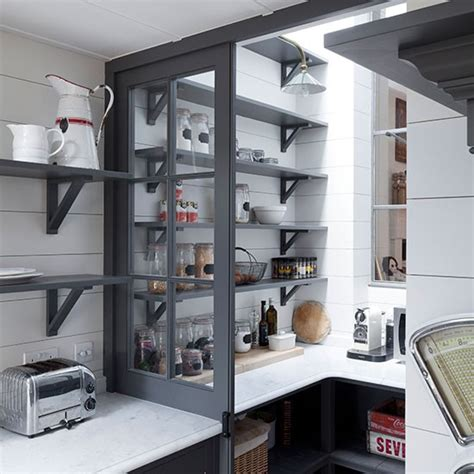 walk in pantry shelves best kitchen shelving ideas housetohome co uk