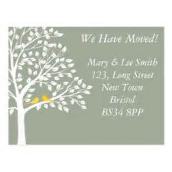 Change Of Address Postcard Template by Custom Change Of Address Postcards Zazzle Co Uk