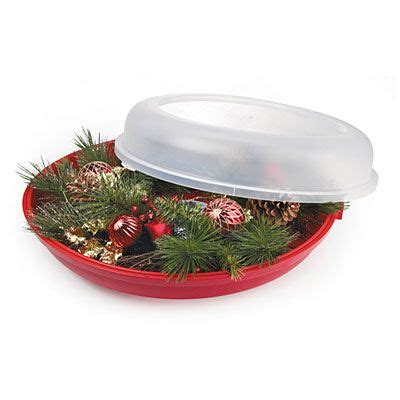 wreath storage containers sterilite 174 24 quot wreath storage container at big lots need