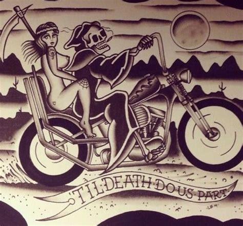 Motorrad Pin Up Tattoo by Die Besten 78 Ideen Zu Biker Tattoos Auf Pinterest