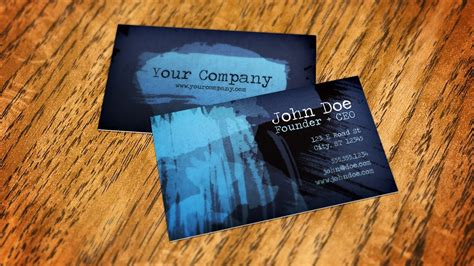 How To Create A Business Card Mockup In Photoshop