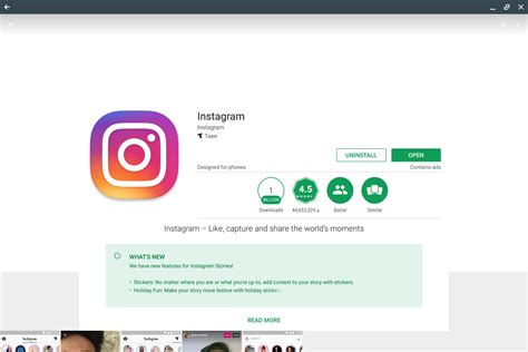 instagram app for android on running android apps on a chromebook could be the best of both worlds greenbot