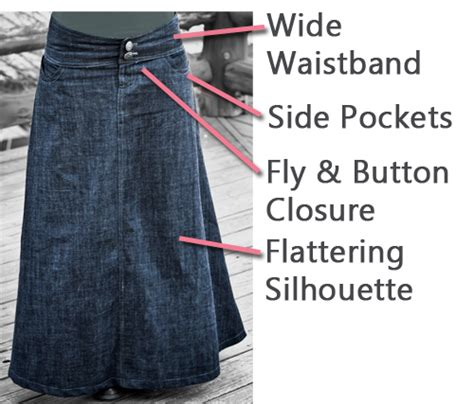 pattern for skirt from jeans tutorial how to sew denim ebook fresh modesty