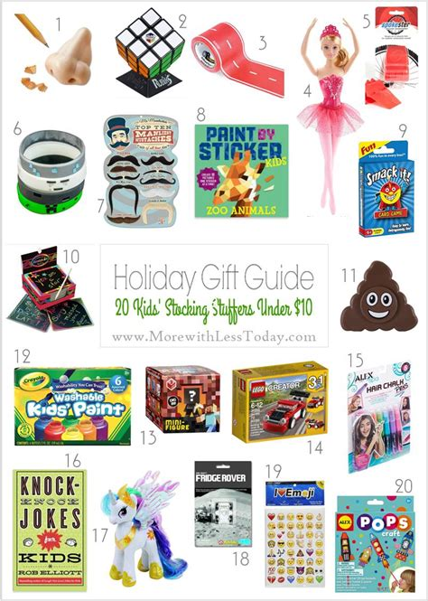 gifts for kids under 10 stocking stuffer gifts under 10 inexpensive gift ideas