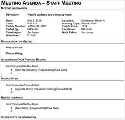 Team Meeting Agenda Template by 15 Best Meeting Agenda Templates For Word