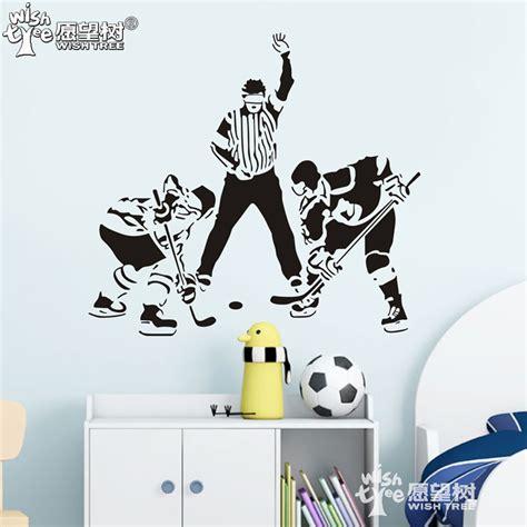 hockey wall stickers hockey wall stickers home decor home decoration