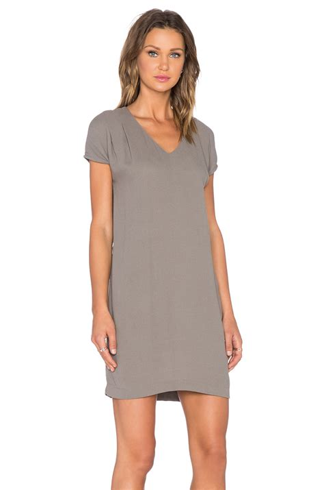 Magdalena Dress american vintage magdalena dress in gray lyst