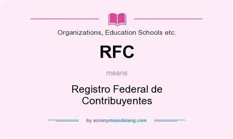 consulta tu rfc registro federal de contribuyentes y rfc registro federal de contribuyentes rfc registro