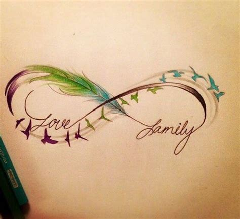 infinity symbol with feather 25 best ideas about infinity feather tattoos on