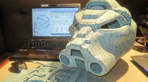 Papercraft Props - prop building with pepakura and papercraft make