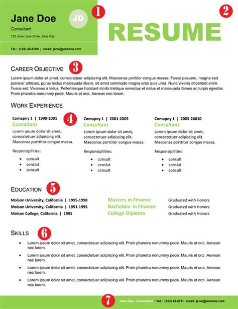 stand out resume templates professional resume design for non designers creative