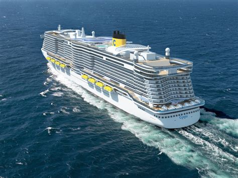 biggest cruise ships in the world in order costa cruises orders two 6 600 passenger lng powered