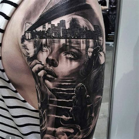 portrait sleeve tattoo designs 60 awesome sleeve tattoos for masculine design ideas