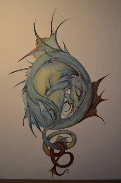 dancing dragon tattoo by jackie morris i am the year of the